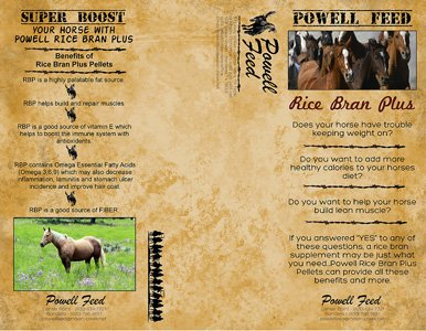 Powell Feed Rice Bran Plus