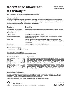MoorMan's Showtec MoorBody Information
